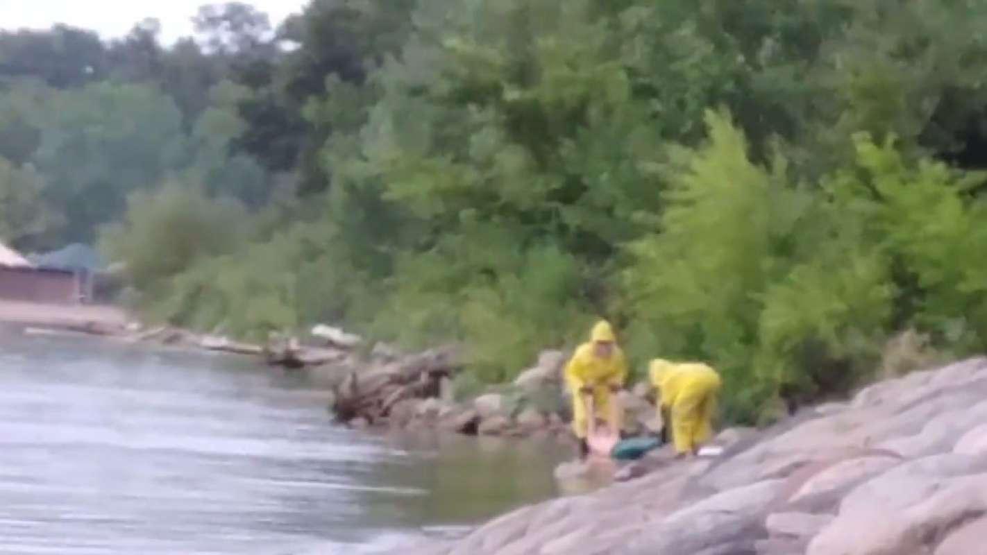 Из озера в Миннесоте вытащили существо, очень похожее на русалку