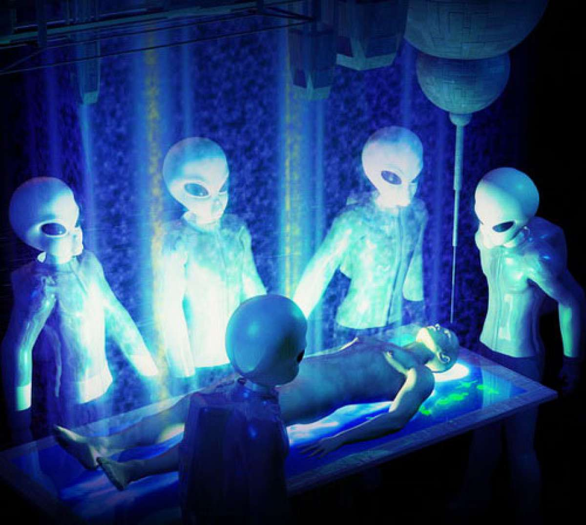 Астронавт уверен, что людей на Землю забросили пришельцы
