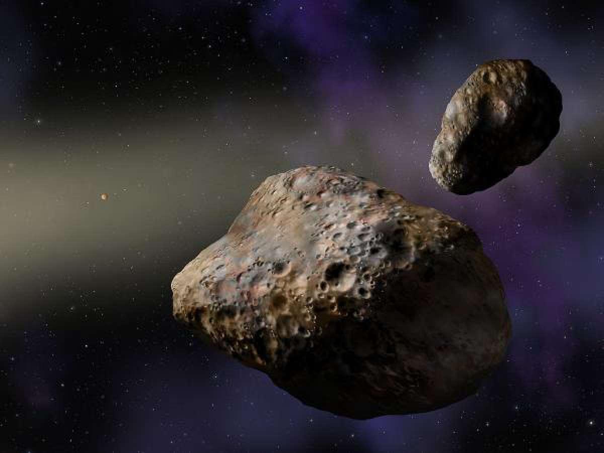 Какие бывают астероиды кометы