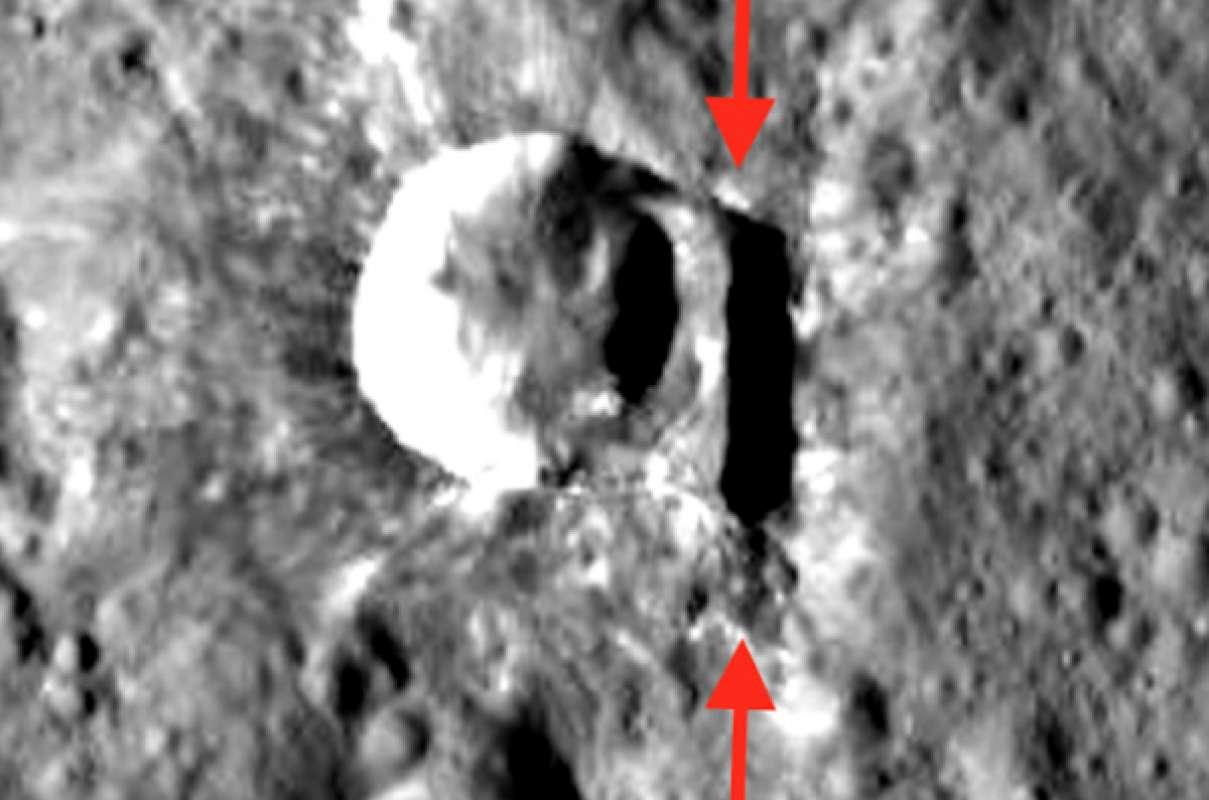 На Церере обнаружили стену, которую построили инопланетяне