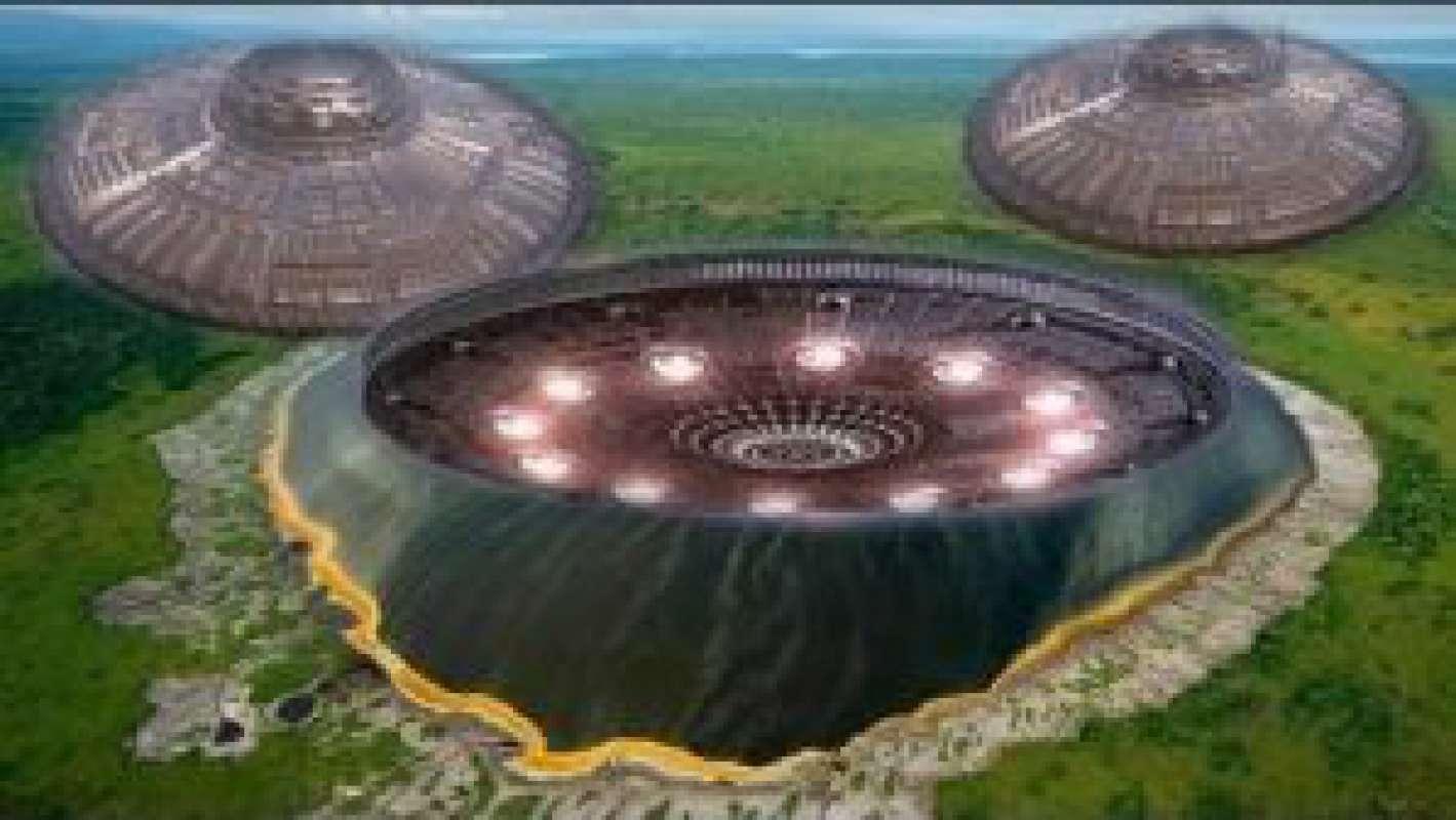 База инопланетян находится в Калифорнии возле парка Чино Хился