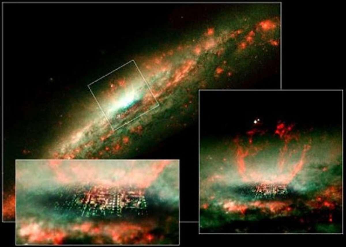 Ученый обнаружил неизвестный «город Бога» на снимках телескопа «Хаббл»