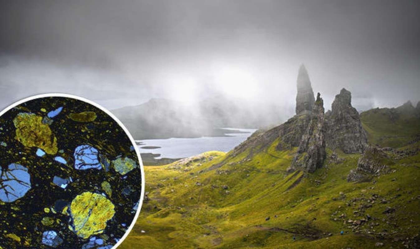 В Шотландии специалисты отыскали минерал внеземного происхождения