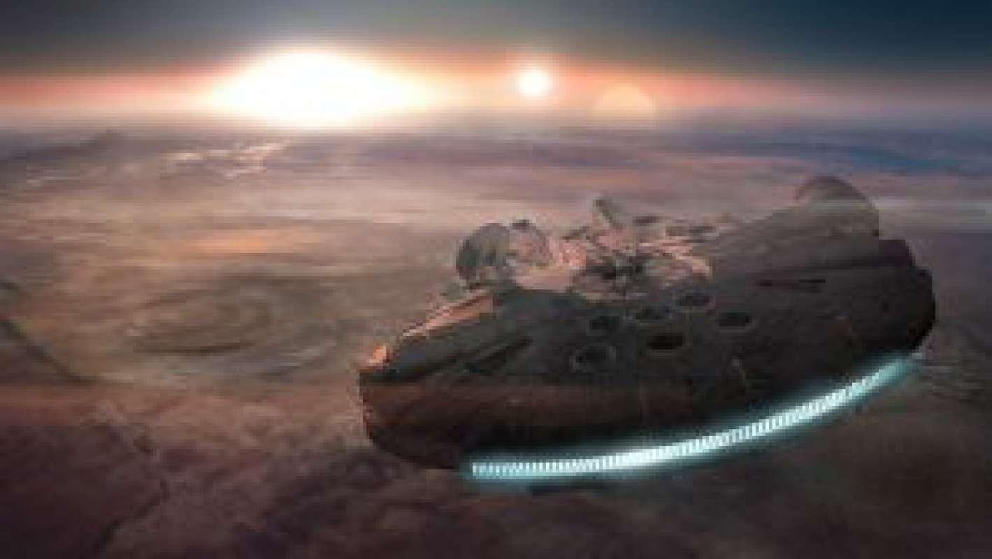 Землю посетило НЛО в виде «Тысячелетнего сокола» из «Звёздных войн»