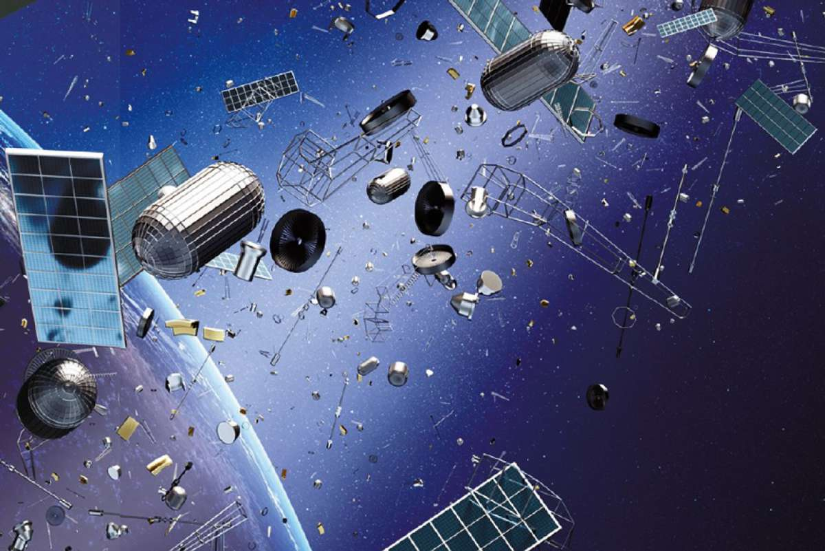 увидеть, многих космический мусор фото это было круто