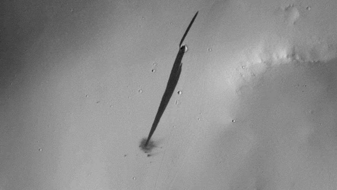 На Марсе заметили упавший НЛО