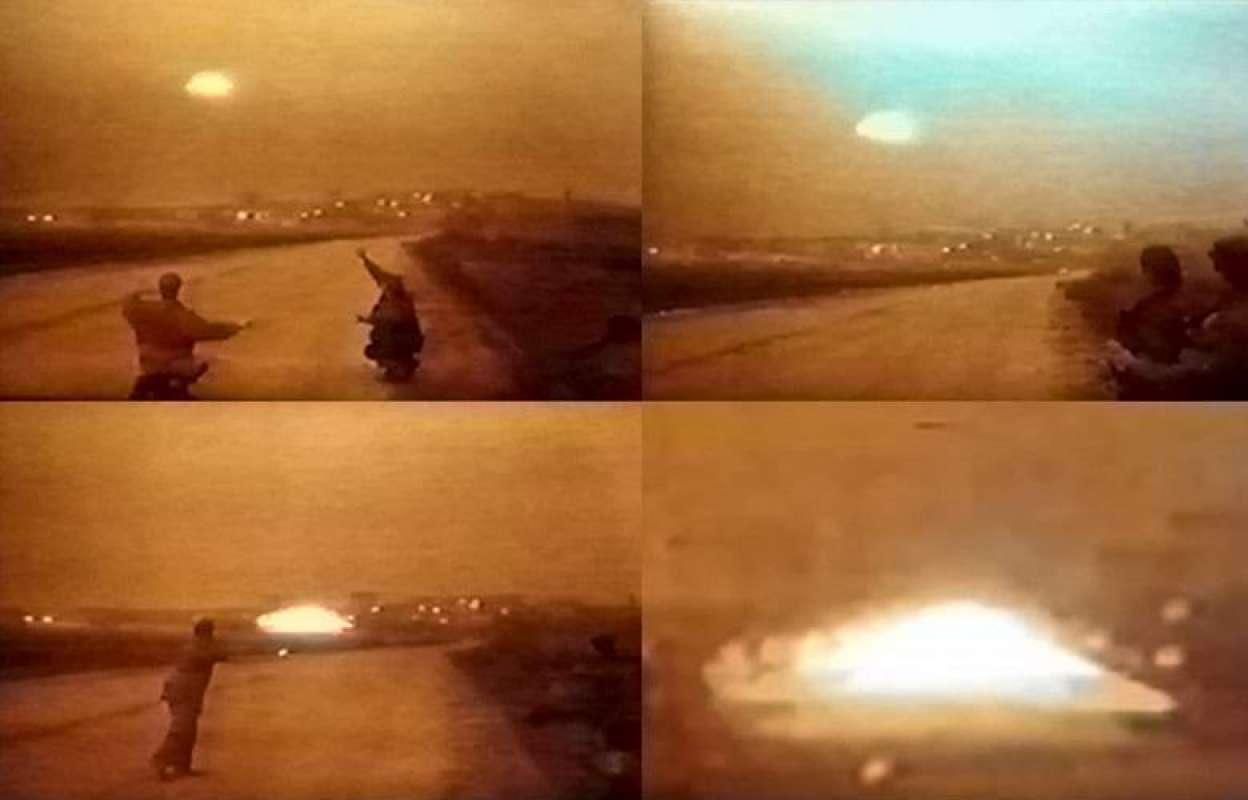 Испанские уфологи показали редкие кадры с НЛО над Москвой