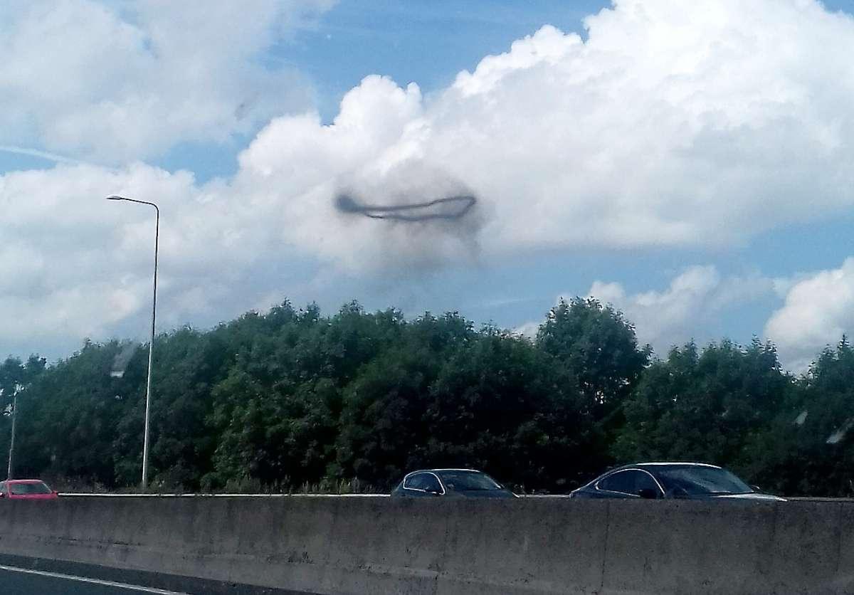 В Сети появилось видео с маскирующими друг друга НЛО