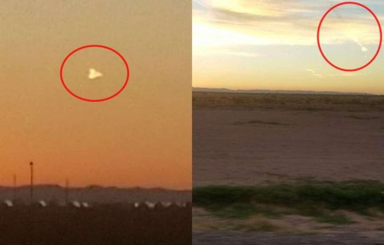 Странный НЛО поразил жителей Техаса своими непредсказуемыми действиями