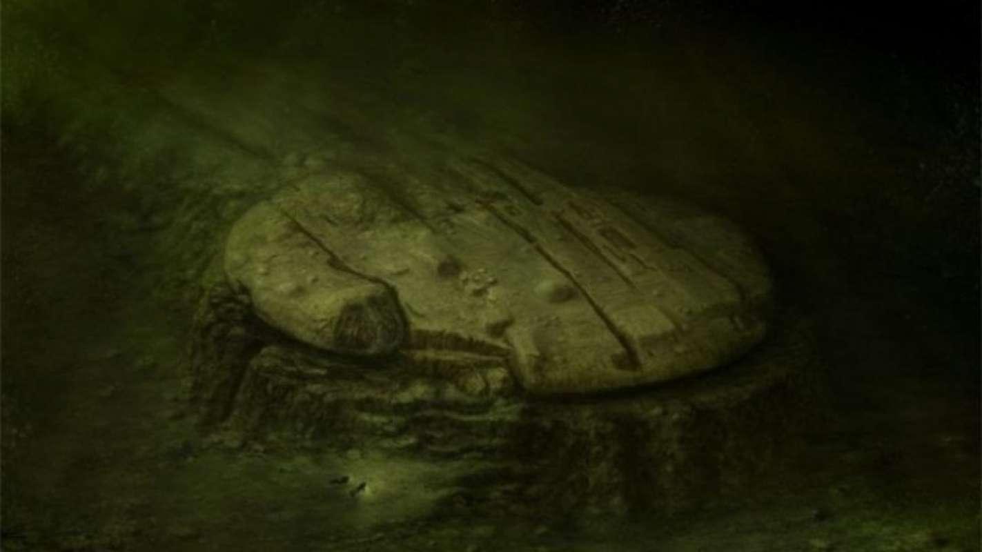 На дне Балтийского моря дайверы обнаружили корабль пришельцев