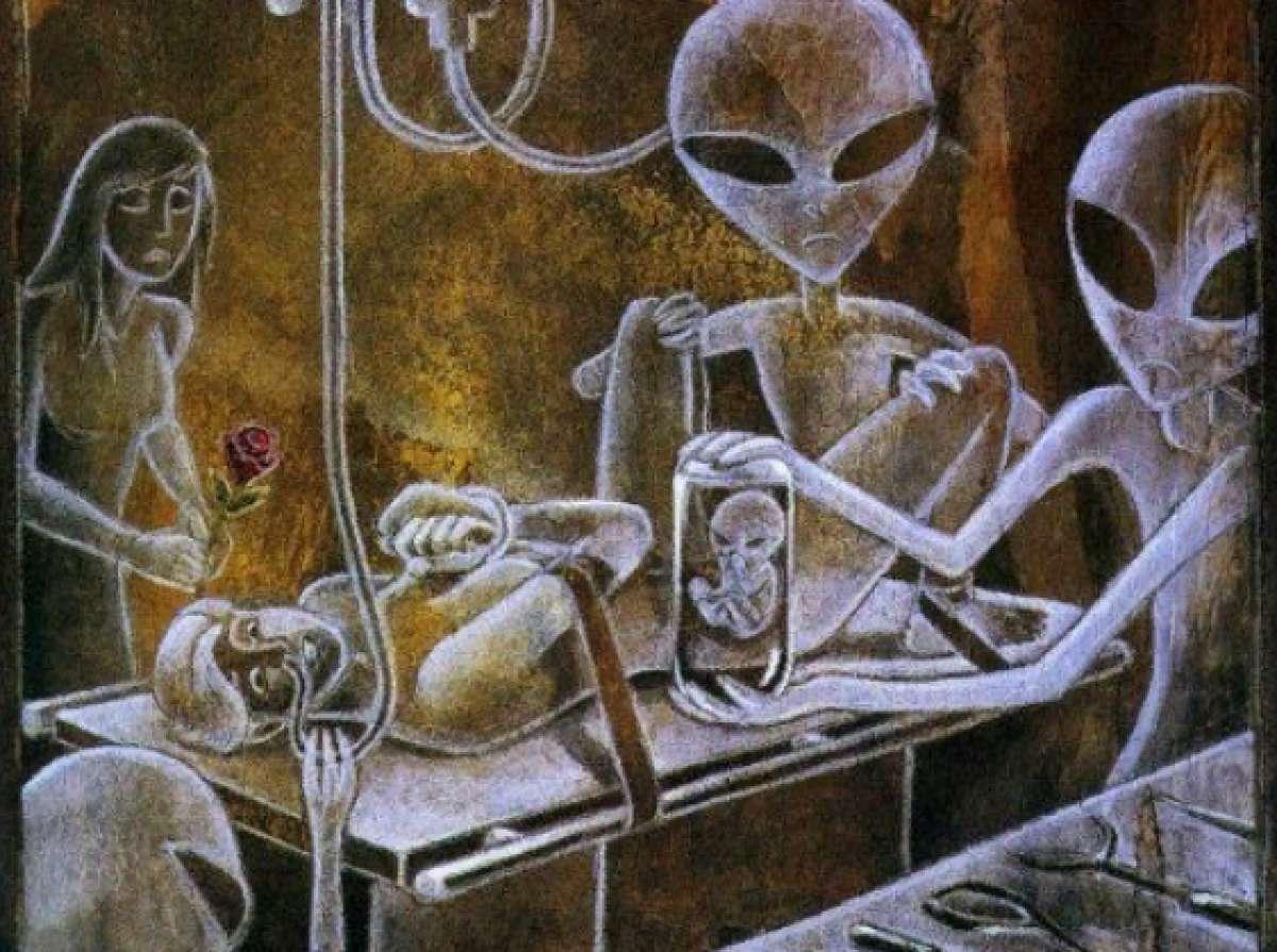 Сексуальные связи с инопланетянами