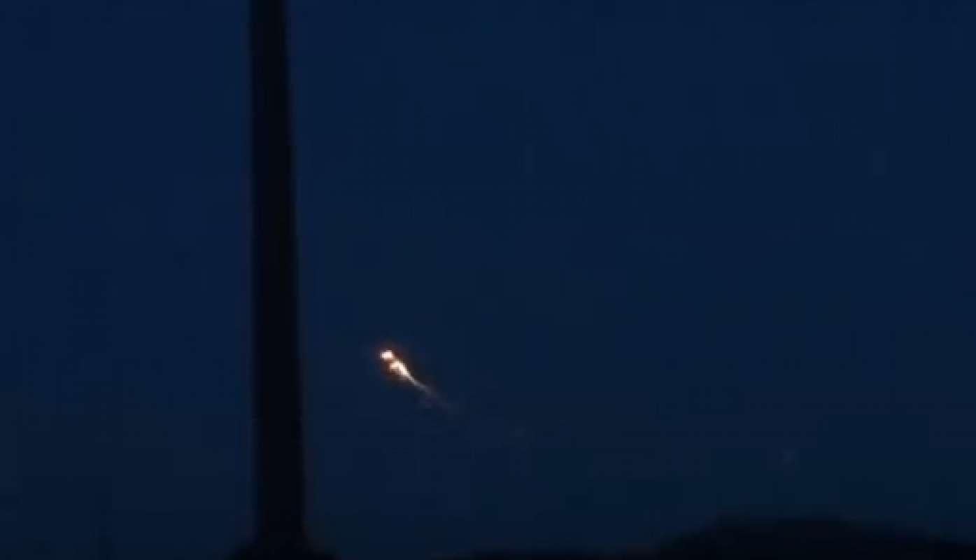 Видео с крушением НЛО в шотландском Киппене было опубликовано в Сети