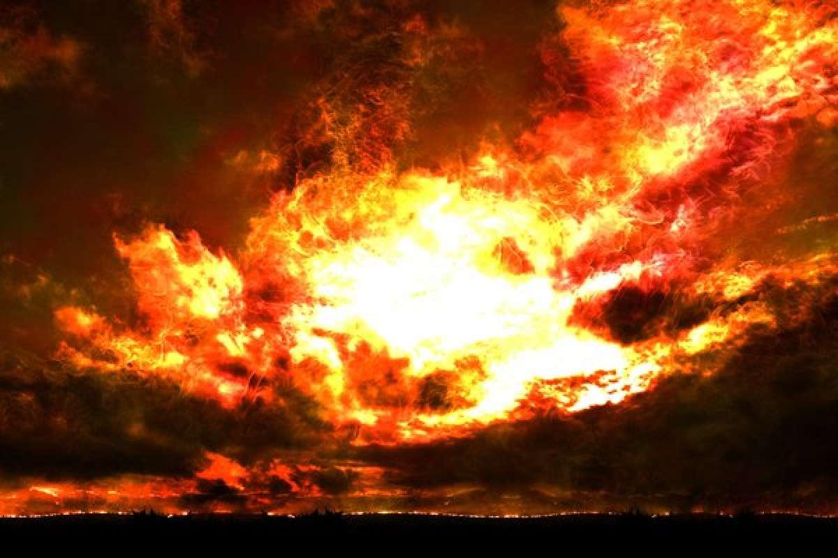 Жители Красновишерска уверены, что они стали свидетелями начала конца света