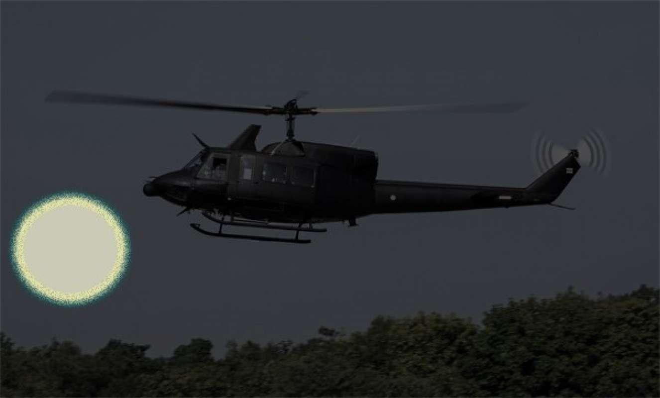 Подлетели, чтобы рассмотреть поближе: Видео с вертолётами и «летающей тарелкой» появилось в сети и изумило общественность