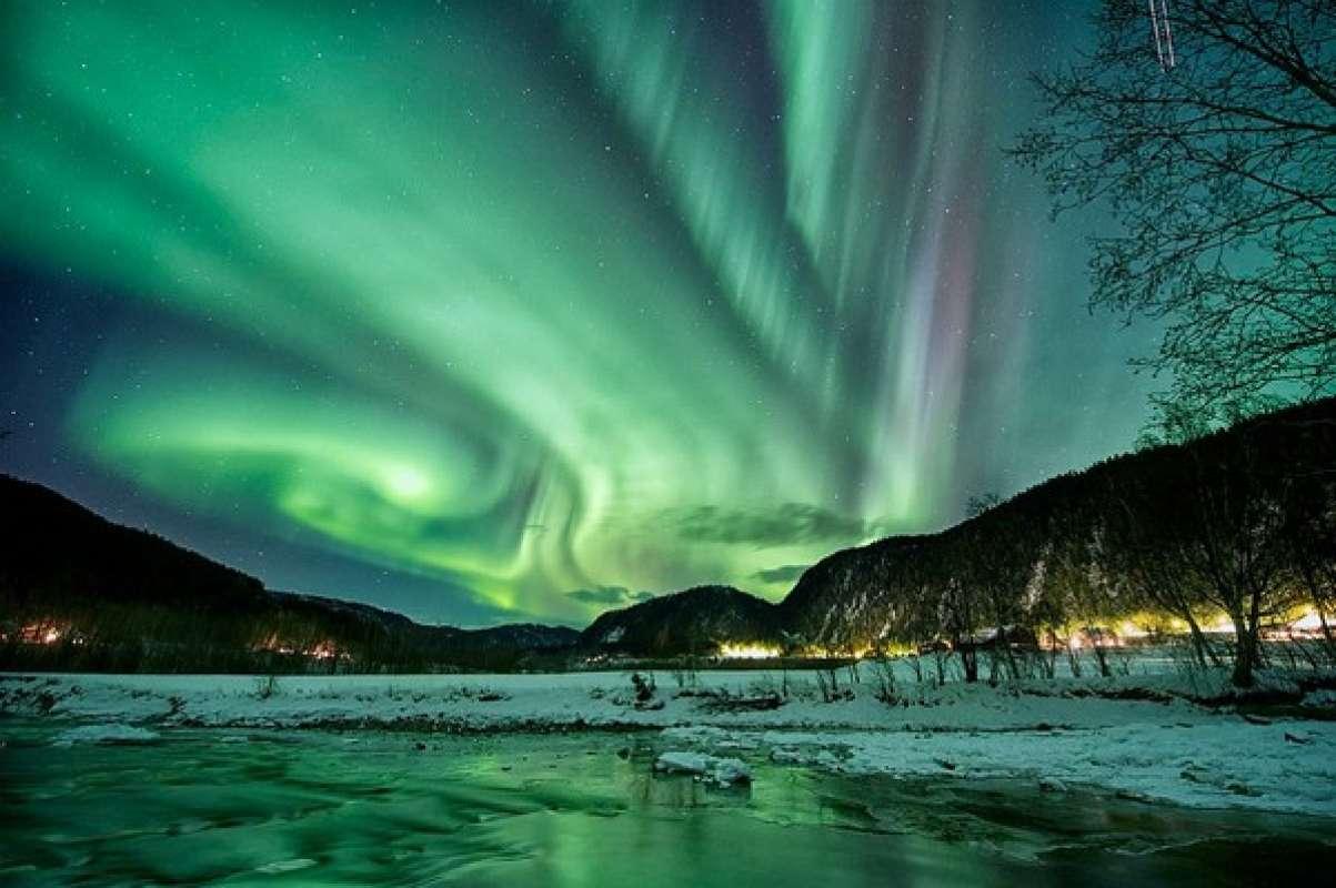 Сегодня жители Тулы смогут увидеть северное сияние