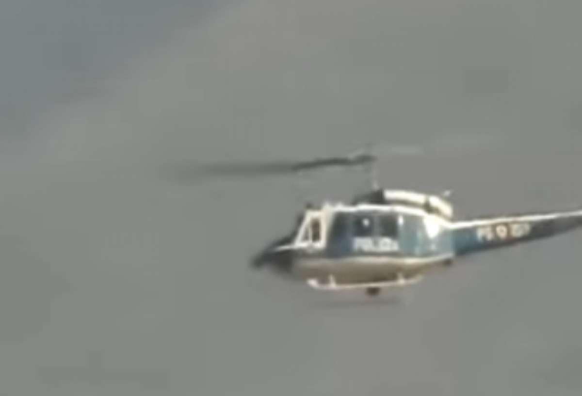 НЛО, подлетевшие к вертолёту на очень близкое расстояние, попали на видео в Италии и ошеломили сеть
