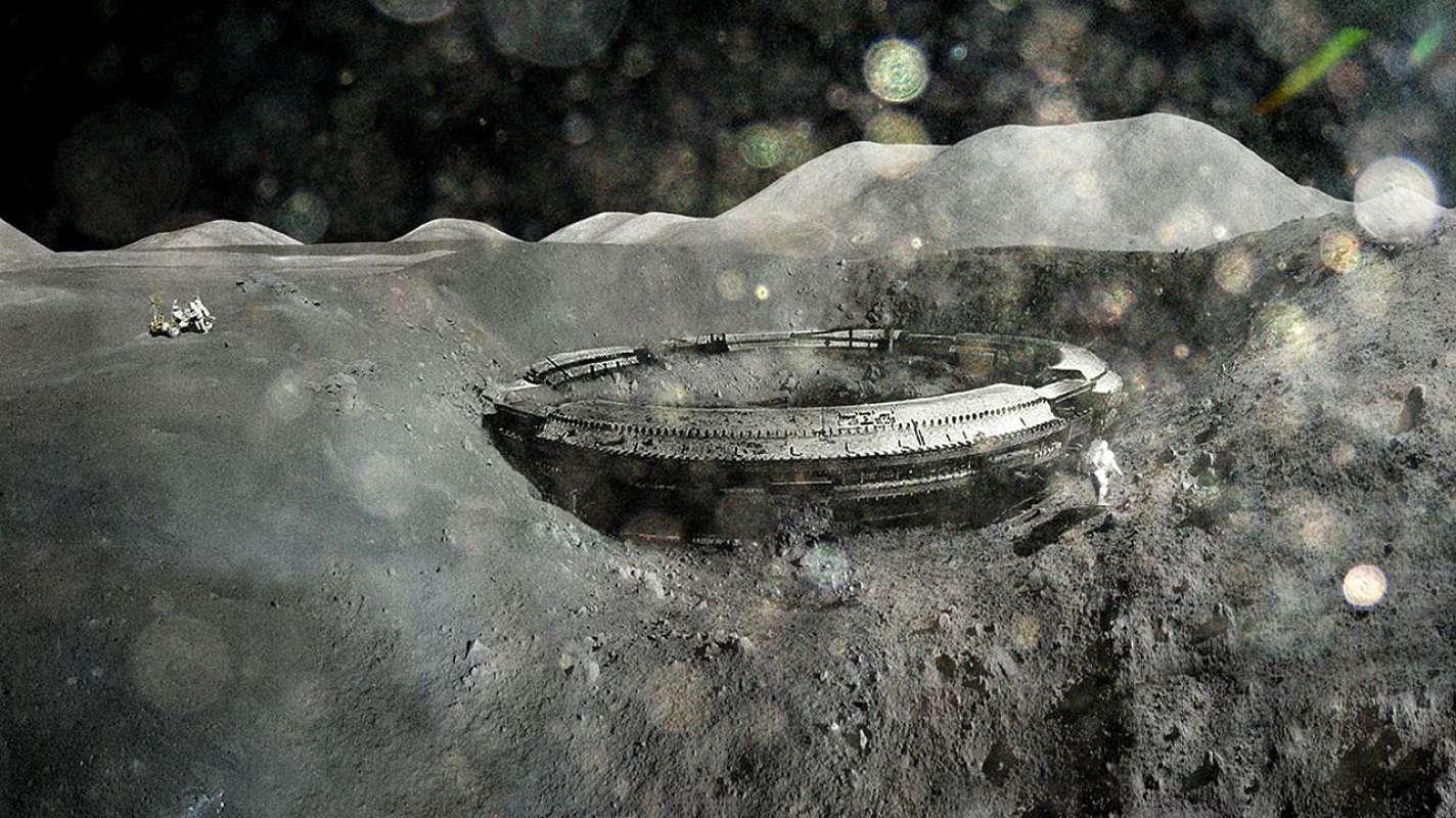 Скотт Уоринг нашёл кое-что интересное на Луне и показал снимки в сети