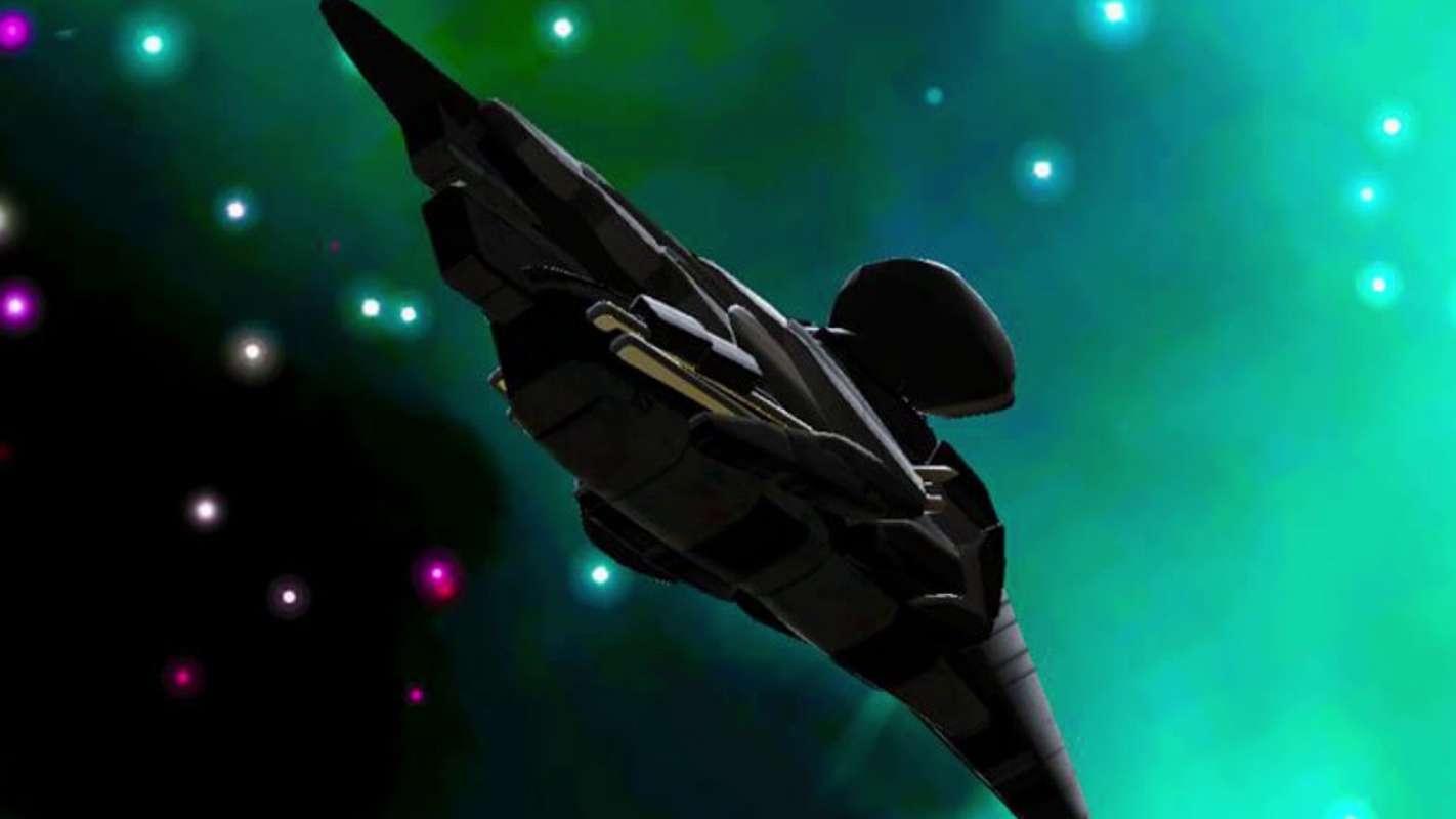 Знаменитый корабль пришельцев «Чёрный рыцарь» показали с близкого расстояния
