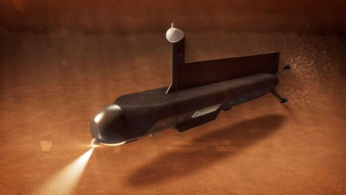 Подводная лодка, найденная на Марсе, удивила интернет