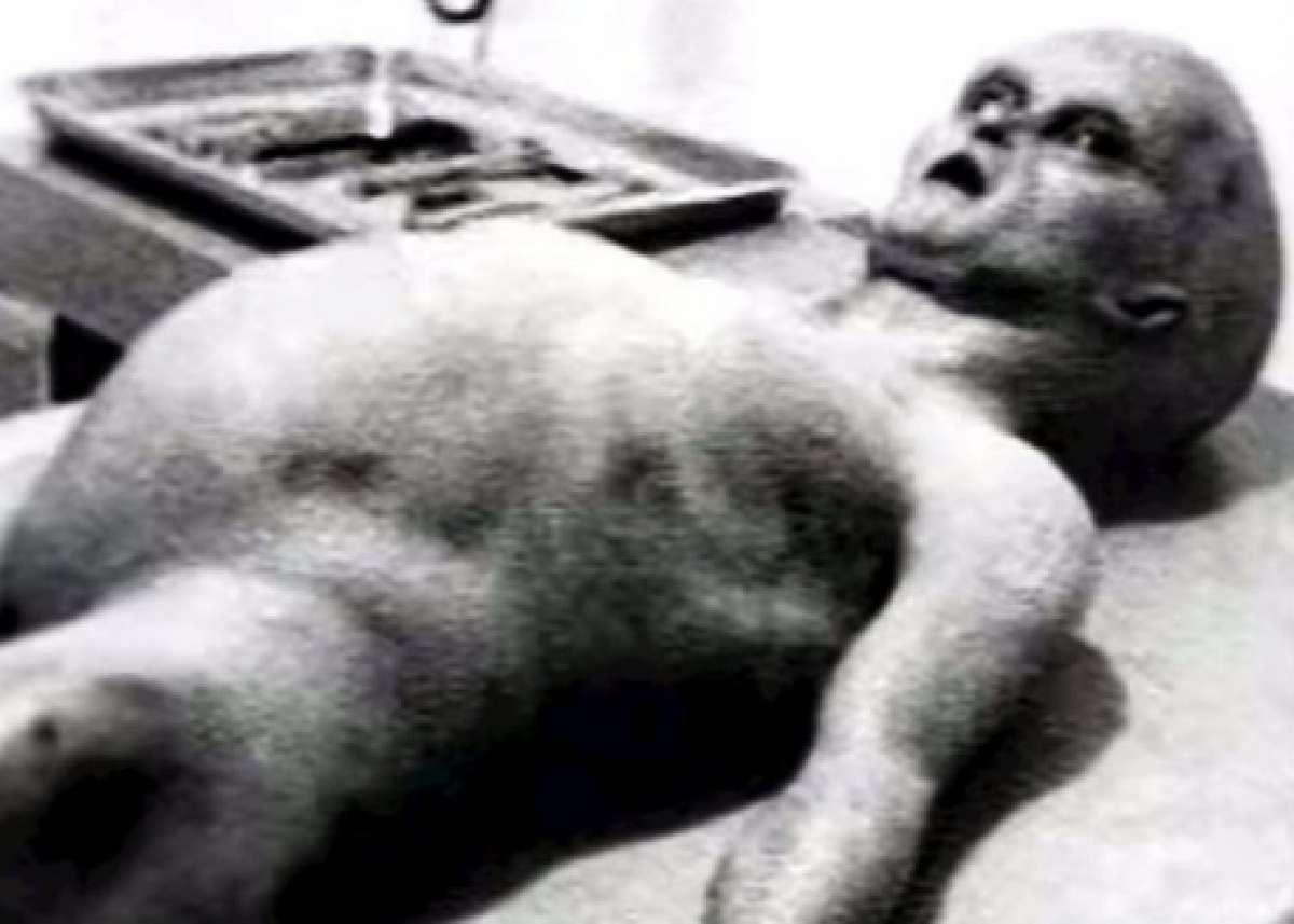 Новые шокирующие подробности о вскрытии пришельца появились в сети