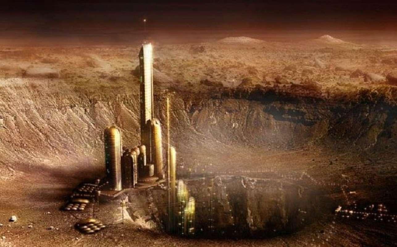 Скотт Уоринг нашёл удивительное сооружение на Марсе, показав соответствующие снимки в сети