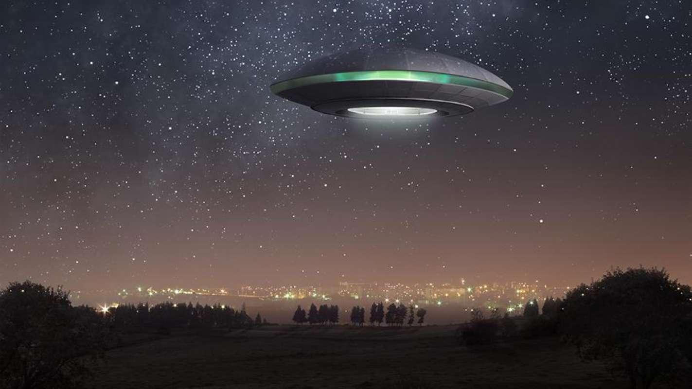 В Кемерово НЛО сняли на видео