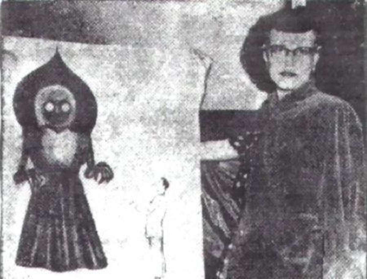 Как в такое поверить? В Западной Виргинии из рухнувшего НЛО выбежал трёхметровый монстр, атаковавший очевидцев