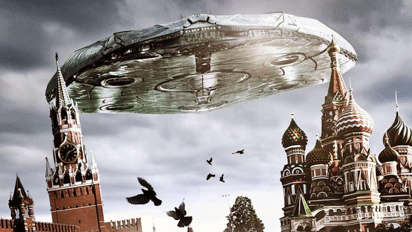 Над Костромой сфотографировали несколько НЛО, один из которых можно хорошо рассмотреть на снимке