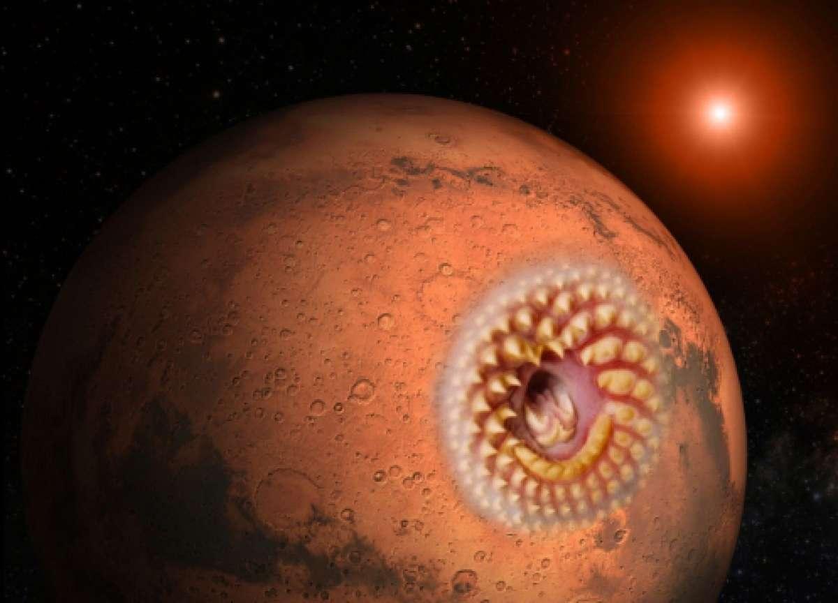 Всё можно объяснить, но как объяснить это? Уфолог показал шокирующий объект на Марсе