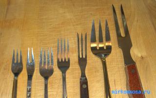 Вилок — Кулинарный сонник