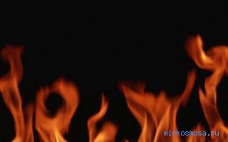Видеть во сне много огня фото
