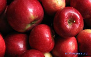 Толкование сна яблоки красные фото