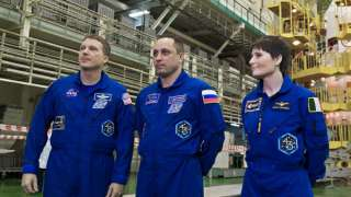 На МКС прибыли новые космонавты