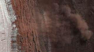 На Марсе облачная погода