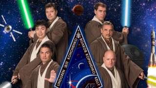 Космонавты переквалифицировались в джедаев