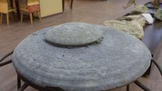 Летающую тарелку, найденную на Моховском разрезе, отправили в музей