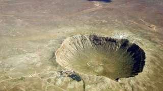 Последствия падения огромного метеорита  обнаружены в Австралии