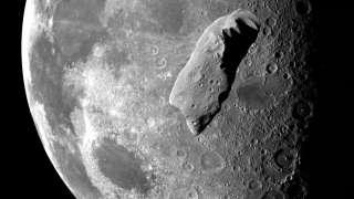 Высадка астронавтов на астероид