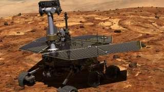 На Марсе «живет» марафонец