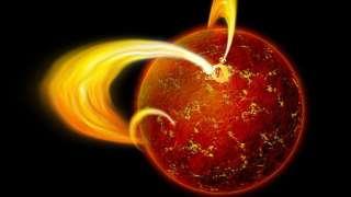 Астрономами была обнаружена странность в поведении магнетара неподалеку от центра нашей галактики