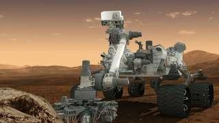 В артефактах на снимках марсохода «Curiosty» ученые распознали НЛО