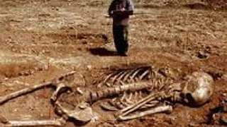 Археологами на Кубани были найдены останки людей огромного роста