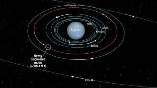 """Телескоп """"Хаббл"""" открыл новый спутник планеты Нептун"""