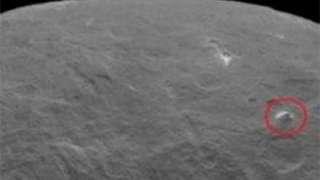 На планете Церера обнаружена пирамида, высотою в 6 тысяч 300 метров