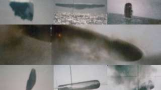 Снимки ВМС США с неопознанными летающими объектами