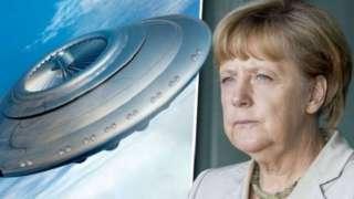 Канцлера Германии вынудили рассекретить некоторые файлы, свидетельствующие об исследованиях НЛО