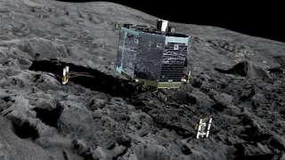 Ученые выставили на всеобщее обозрение результаты исследований кометы Чурюмова-Герасименко