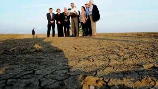 Засуха продолжительностью в несколько лет лишила Калифорнию и близлежащие штаты весомого объема осадков, как сообщает НАСА