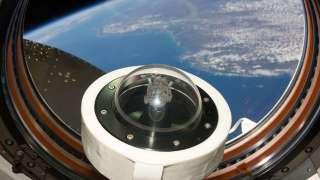 """Космонавты установили на модуле """"Звезда"""" камеры высочайшей четкости"""
