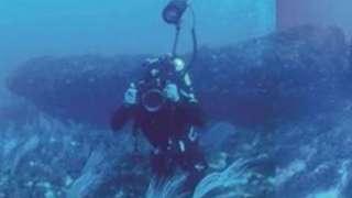 В глубинах Средиземного моря обнаружили загадочное монолитное сооружение